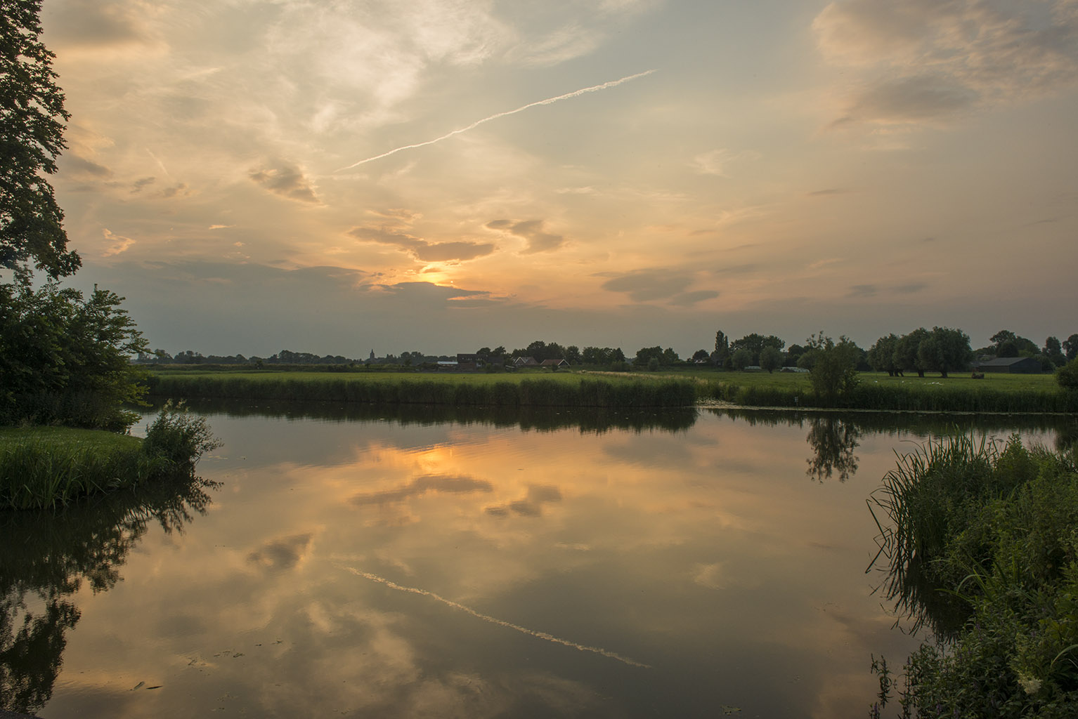 Around the Linge river, The Netherlands