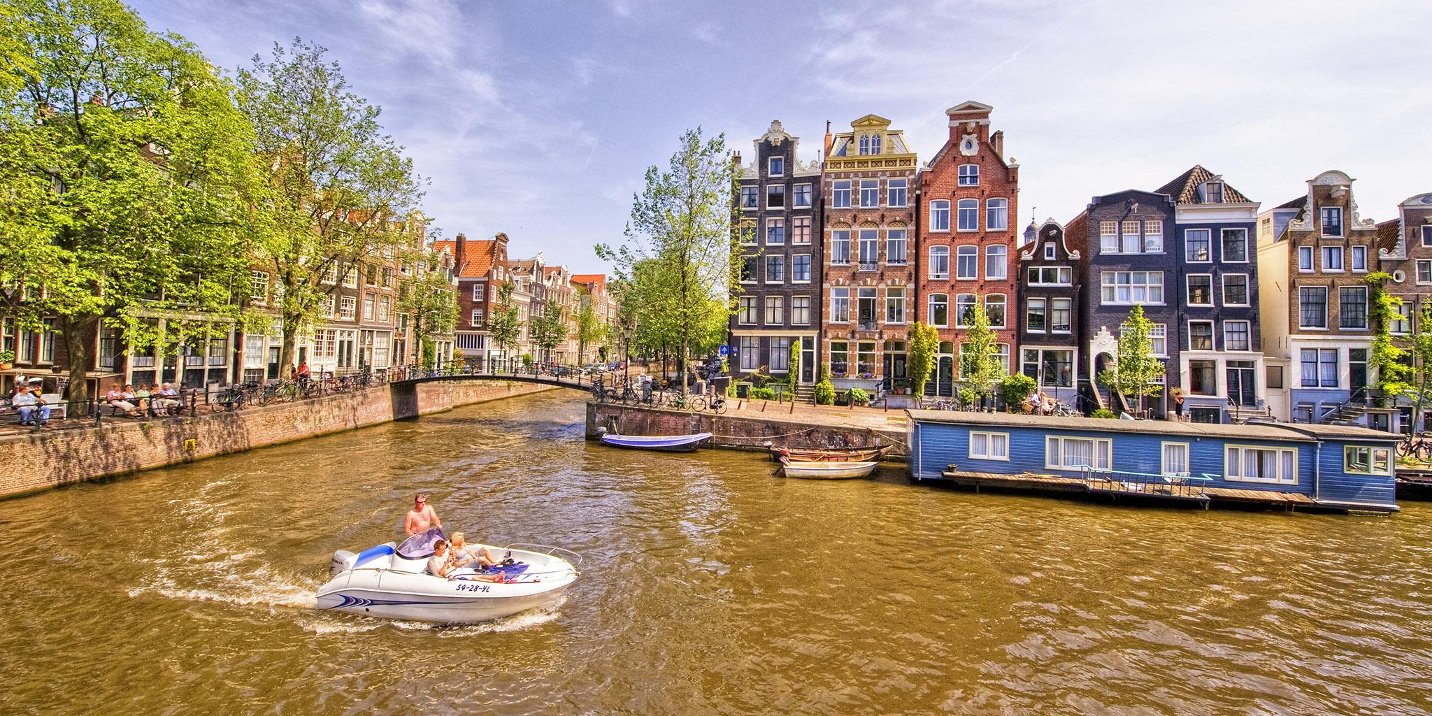 Amsterdam HDR2 03 Brouwersgracht-Herengracht