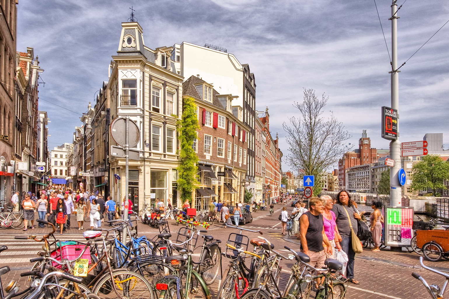 Amsterdam HDR2 19 Singel-Heilige Weg