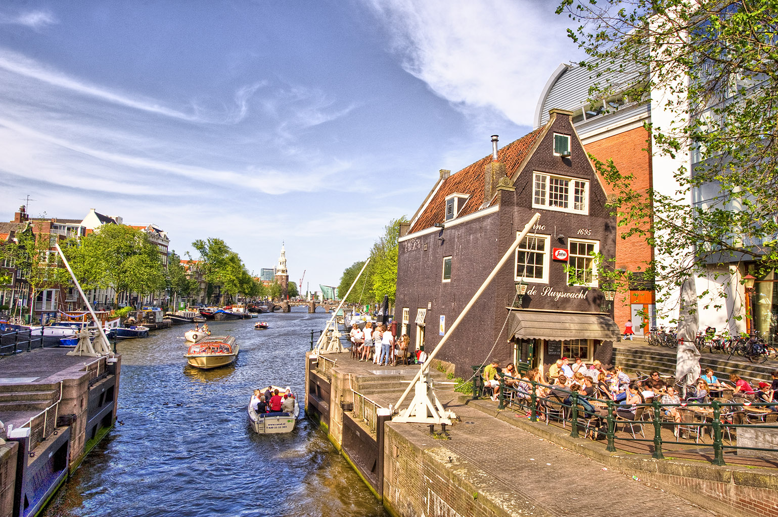Amsterdam HDR2 27 Oudeschans