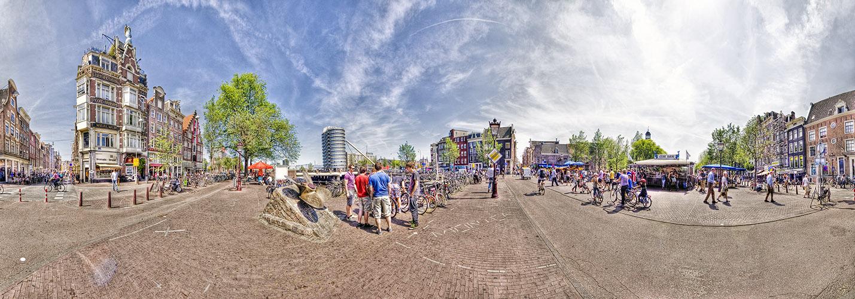 Amsterdam Pano HDR1 05 Singel-Haarlemmerstraat