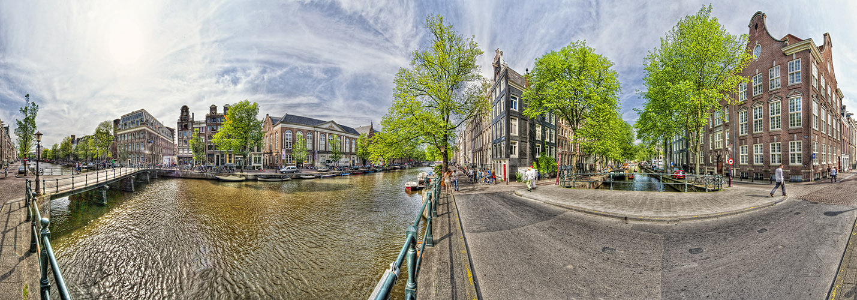 Amsterdam Pano HDR1 08 Raamgracht Centrum