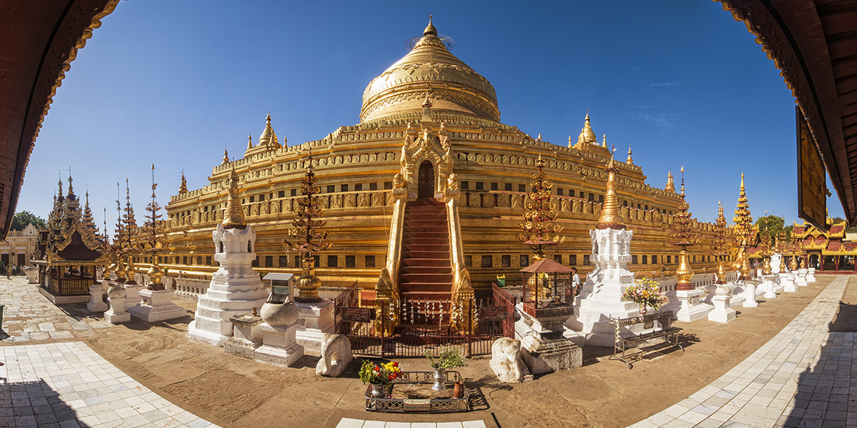 Shwezigon, Bagan, Myanmar