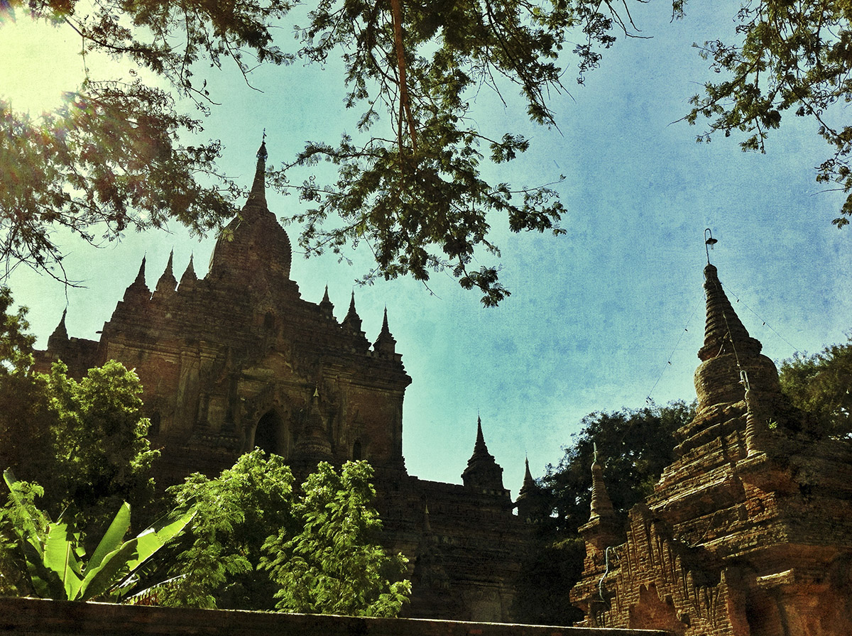 Burma by iPhone & Snapseed