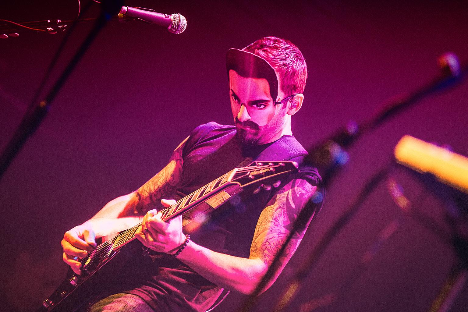 Serj Tankian, Paradiso, Amsterdam The Netherlands 13-10-2012