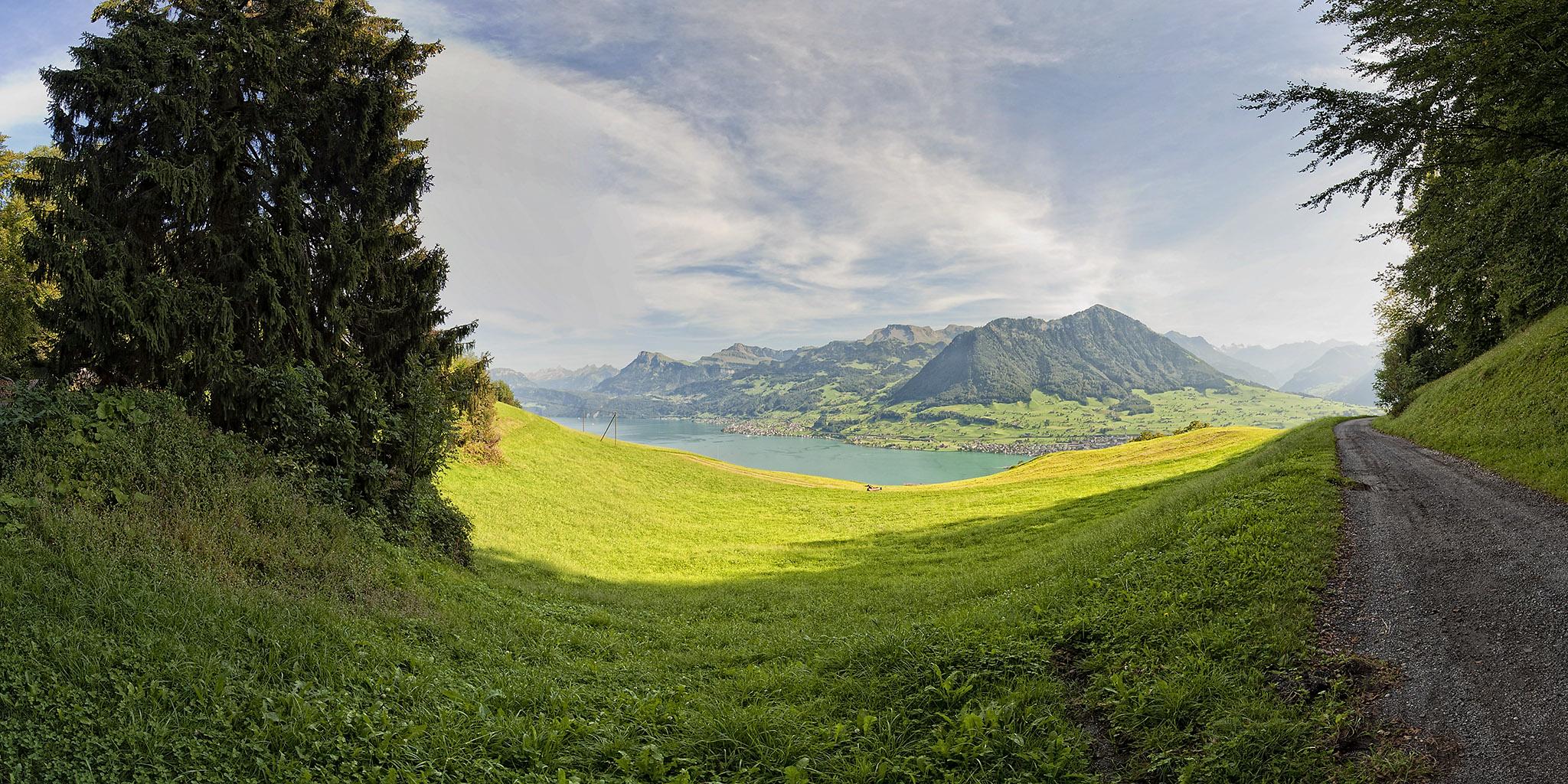 Switzerland 3-095 Burgenstock Felsenweg