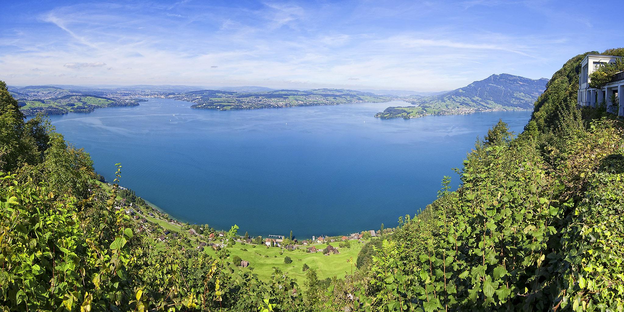Switzerland 3-096 Burgenstock Felsenweg