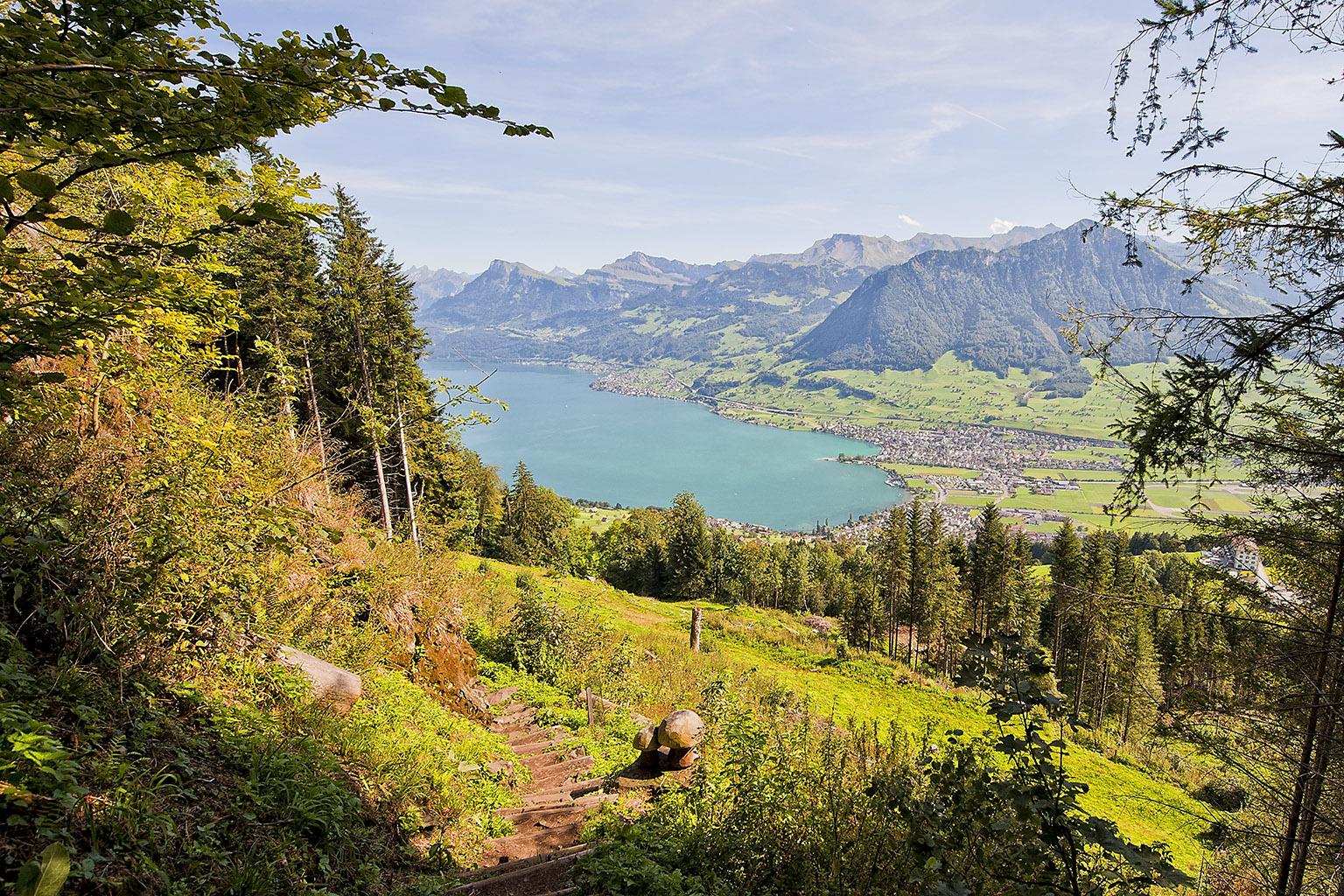 Switzerland 3-113 Burgenstock Felsenweg