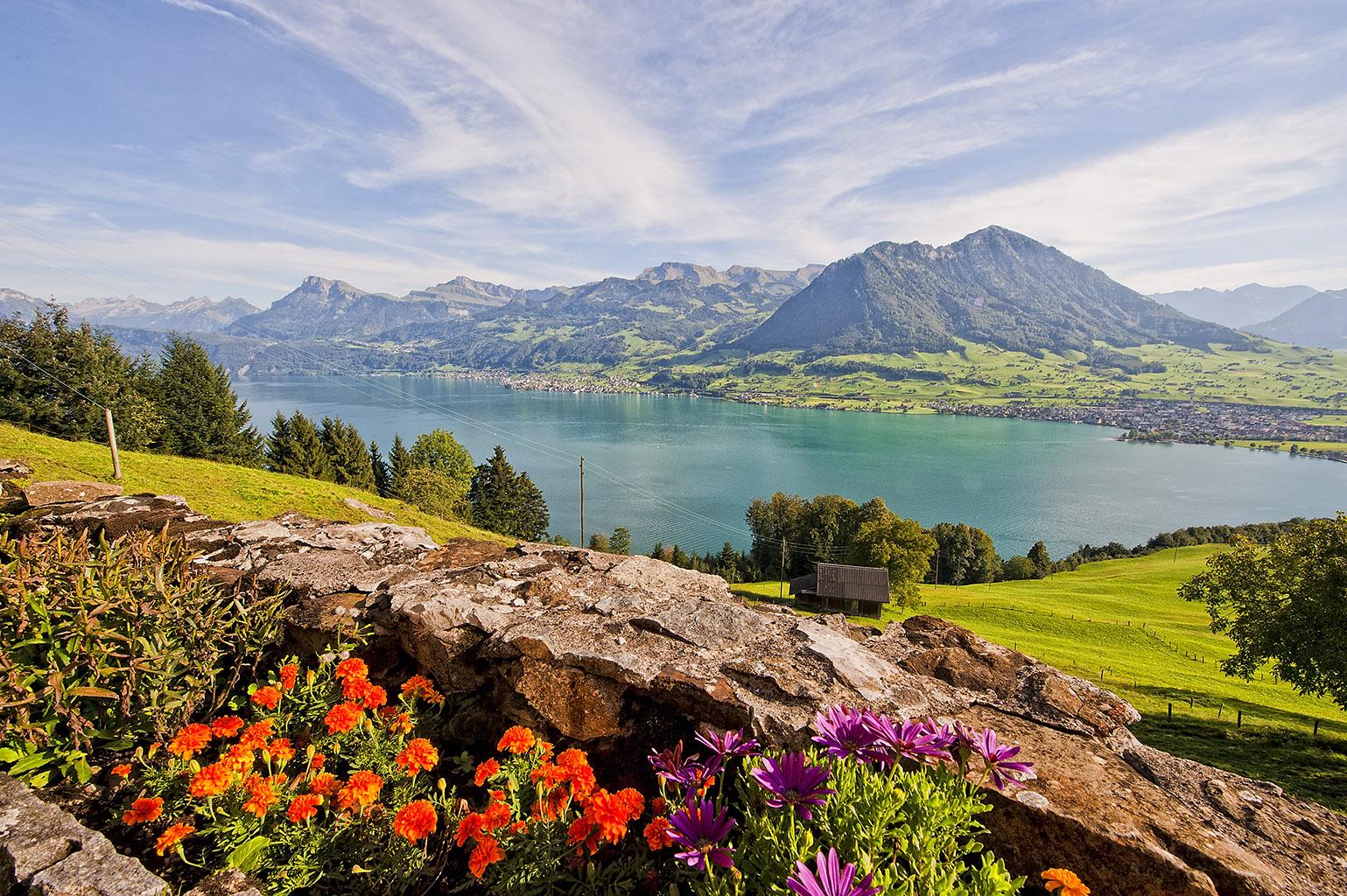 Switzerland 3-117 Burgenstock Felsenweg