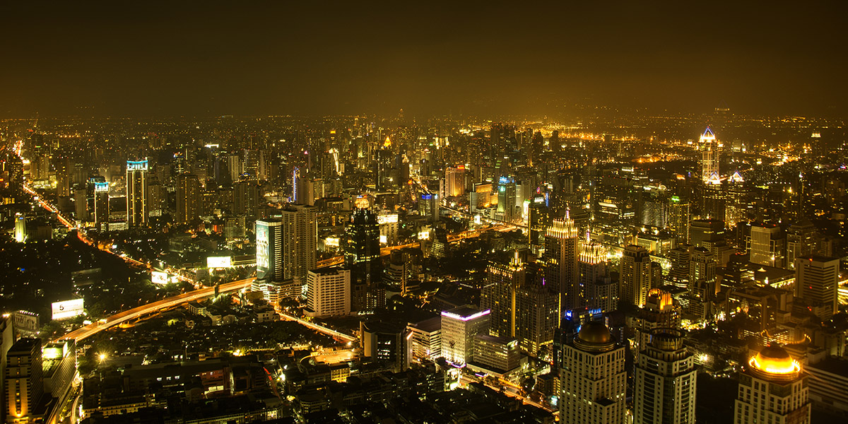 Bangkok from Bai Yuk 2