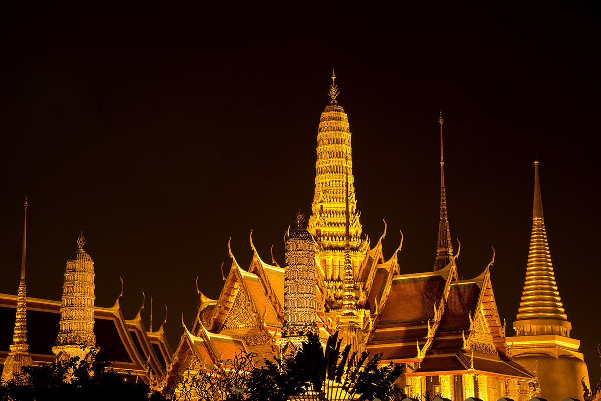 Grand Palace at Night I
