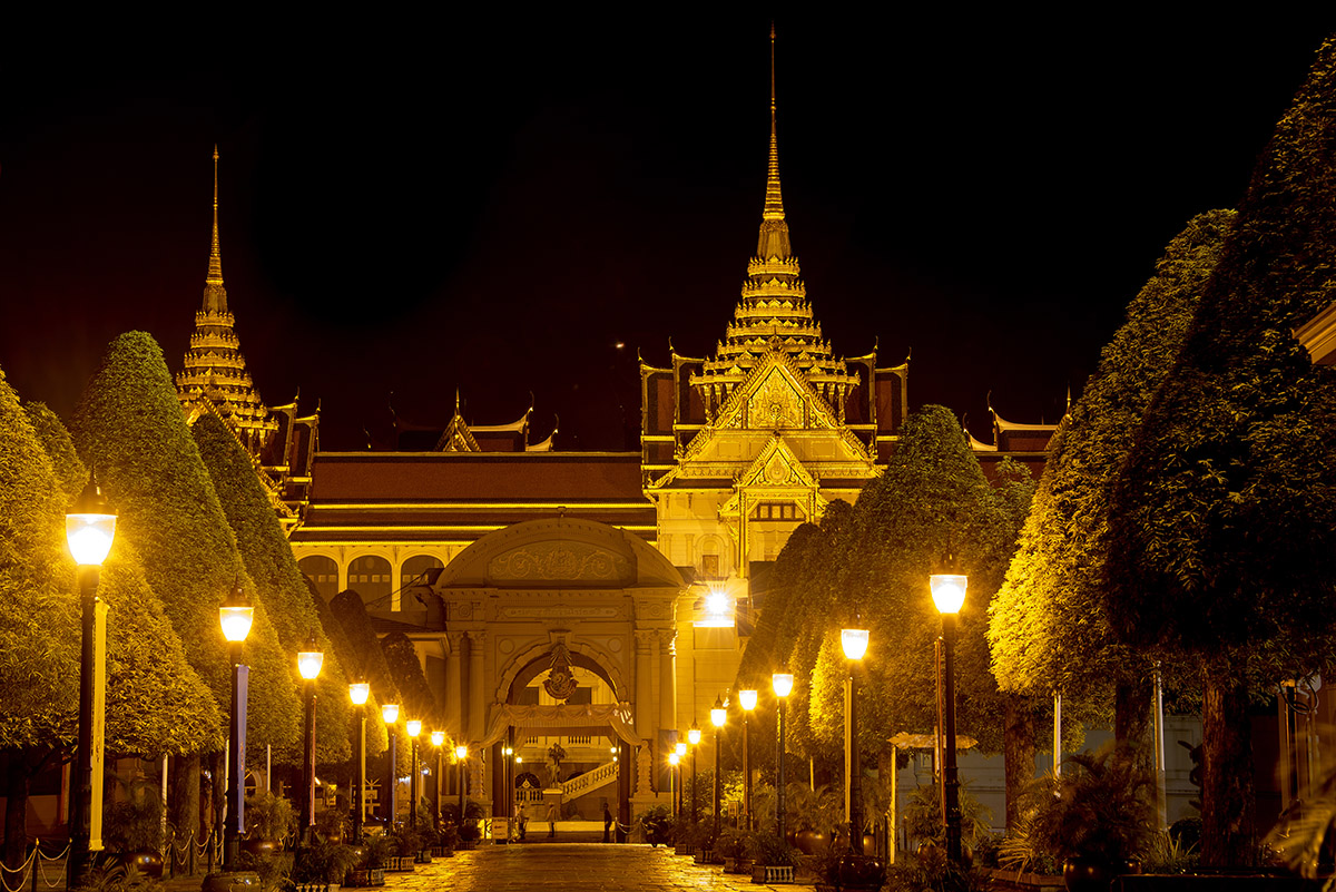Grand Palace at Night II