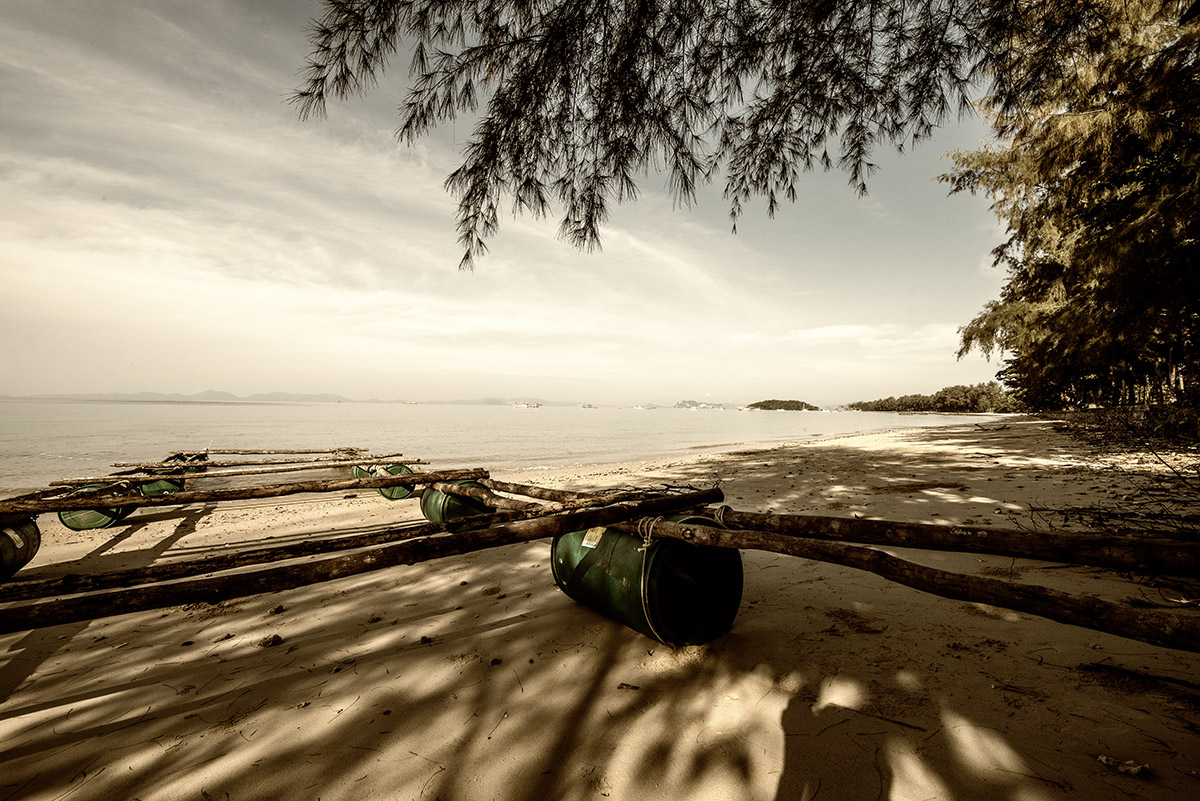 Beach around Krabi II