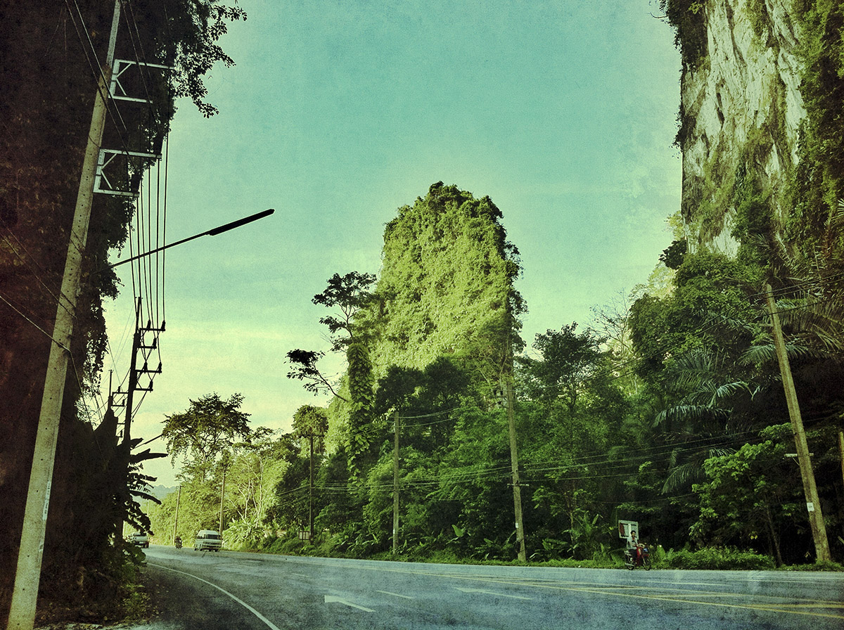 Thailand by iPhone & Snapseed
