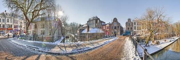 Utrecht Winter Panorama