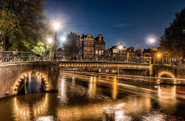 Amsterdam at night II